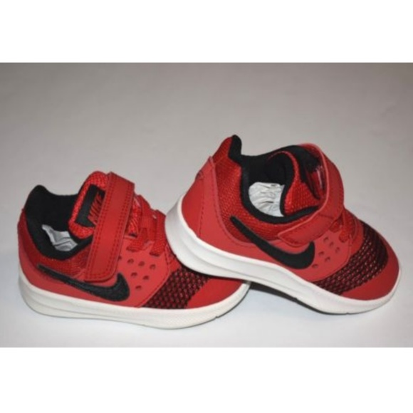 beb0f7fdb95ef NEW INFANT NIKE DOWNSHIFTER 7 SNEAKER RED SHOES-5C